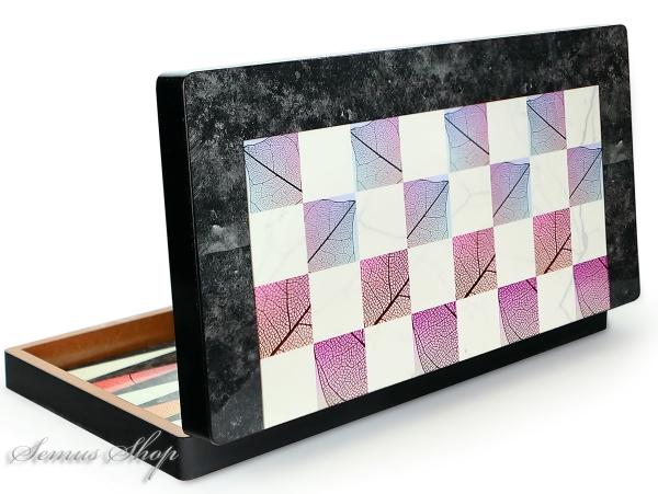 Luxus Backgammon Tavla Marmor Optik XXL