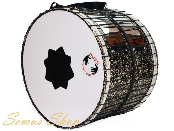 Orientalische Profi 53 cm. DAVUL Schlagzeug Trommel Dhol Handmade mit LED (HM1)
